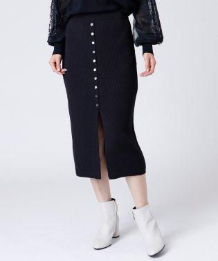 [Aga]リブニットスカート