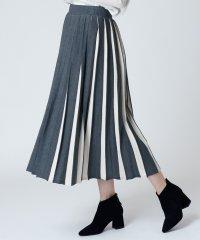 [soeur7]ニットプリーツスカート