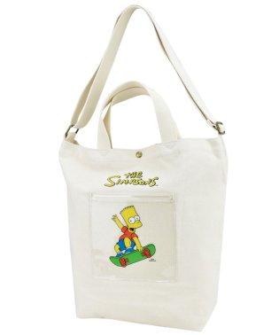 ザ シンプソンズ The Simpsons ショルダートート スケボー SMP 帆布
