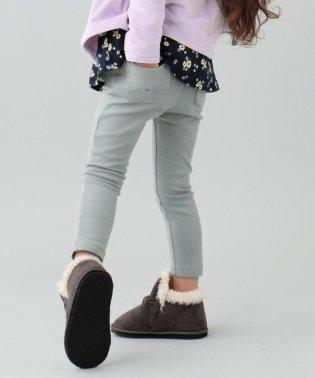 【80~130cm】ストレッチポンチ ネコポケット パンツ