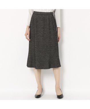 [セットアップ対応] ウール混斜め切り替えスカート