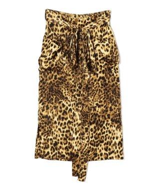 THE Dallas:レオパードスカート
