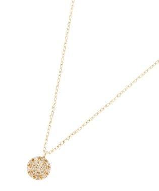 ダイヤモンド クラスター取巻きネックレス
