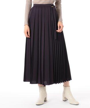 プリーツラップスカート