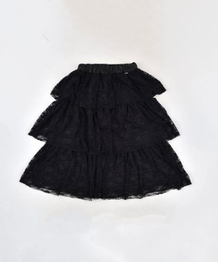 【ニコプチ掲載】フリルティアードレーススカート