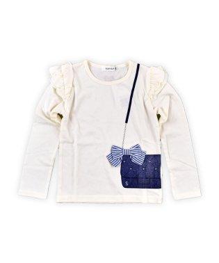 天竺バッグ風プリントTシャツ