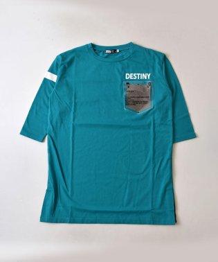 クリアポケットロングTシャツ