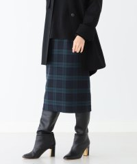 Demi-Luxe BEAMS / チェック セミタイトスカート