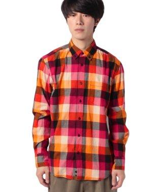 グレンチェックシャツ