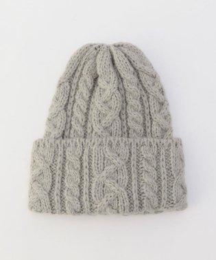【HIGHLAND2000/ハイランド2000】ソフトケーブルニット帽