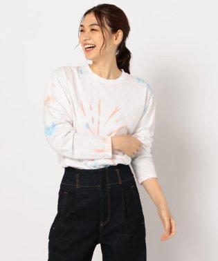 ペールタイダイロングスリーブTシャツ