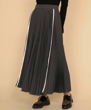 SCOTCLUB(スコットクラブ)ラインアクセントプリーツスカート