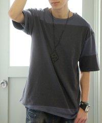 『日本製シンプル配色Tシャツ』