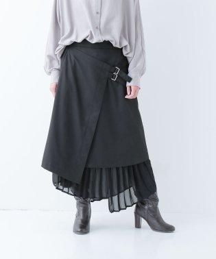 『kOhAKU洗練アシメプリーツスカート』