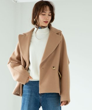 SHORT DOLMAN COAT