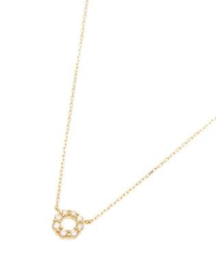 K18ダイヤモンド グラデサークル ネックレス大
