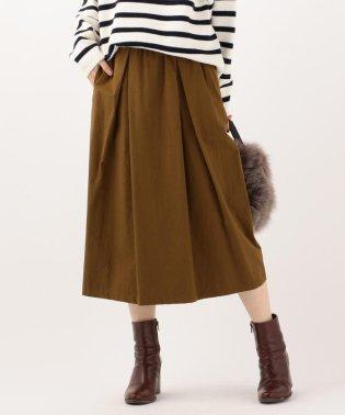 SHIPS Days:ギャザーストレートスカート