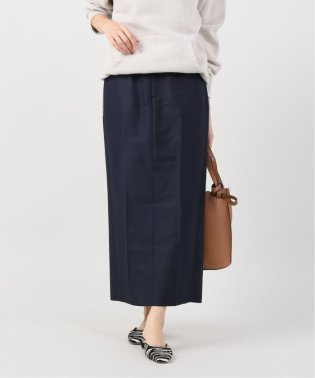 【Yurina Kawaguchi】M.CHAMBRAY C-PRESS スカート