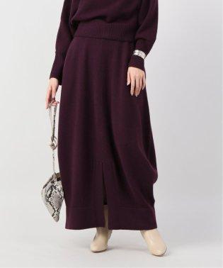 【Yurina Kawaguchi】BOTTLE LINE KNITTED スカート