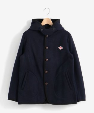 DANTONウールモッサフードジャケット