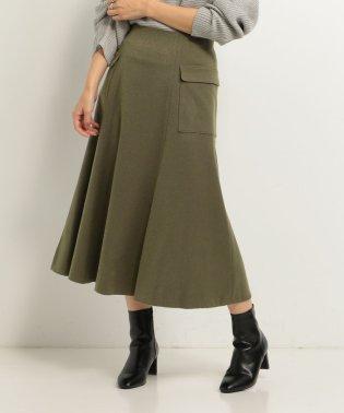 アウトポケットサイドフレアースカート