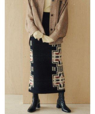 【PENDLETON】ニットタイトスカート