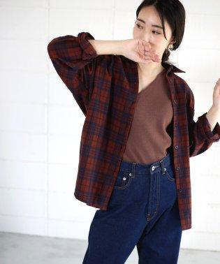 【WEB限定】ネルシャツ