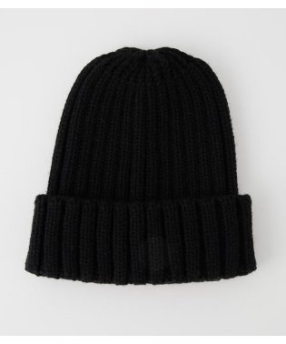 WIDE RIB KNIT CAP