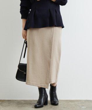 ミラノリブカシュクールタイトスカート