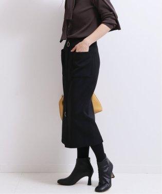 《予約》T/Wダブルクロスフープジップタイトスカート◆