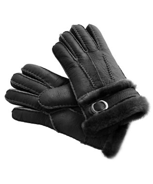 ムートンファー手袋