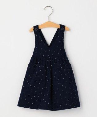 SHIPS KIDS:コーデュロイ ジャンパースカート(80~90cm)