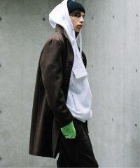 【140S Fine Merino Wool】LOW TYPE スタンドチェスターコート