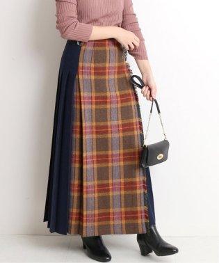 【O'NEIL OF DUBLIN/オニール・オブ・ダブリン】 KILT SK WOOL MIXロングスカート