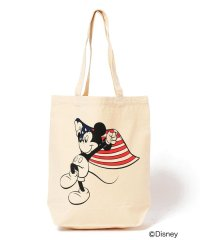 SHIPS DISNEY COLLECTION: ミッキー プリント トートバッグ