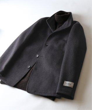 【140S Fine Merino Wool】スタンドジャケット