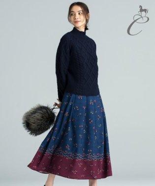 【Class Lounge】LINER FLOWER スカート