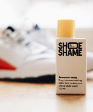 〈SHOE SHAME/シューシェイム〉Remember white/ホワイトコーティングクリーム