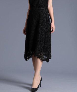 《Maglie White》モールレーススカート