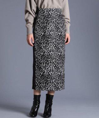 《Luftrobe》ジャガードタイトスカート