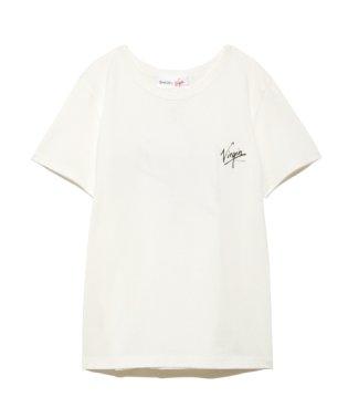 【SNIDEL feat.Virgin RECORDS】ロゴTシャツ