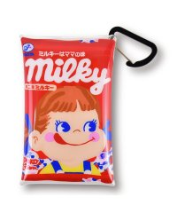 FUJIYA ペコちゃん ミルキー お菓子 クリアマルチケース Sサイズ カードケース コインケース 小物入れ