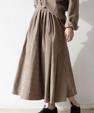 3rd(サード)コーデュロイロングスカート