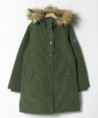 Warm clothing ワッペンロングコート