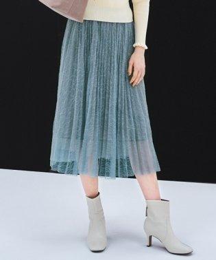 DVレースプリーツ スカート