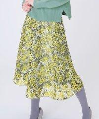 【andGIRL 1月号掲載】DVフラワーラッシュ スカート