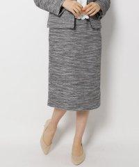【My style is...掲載】【セレモニー・入卒】【34(SS)、42(LL)WEB限定サイズ】キャリーマンツイードナロースカート