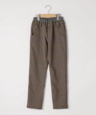 SHIPS KIDS:TR グレンチェック 5ポケット パンツ(145~160cm)