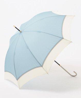 【晴雨兼用】バイカラーデザイン 長傘