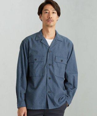 SC INDIGO/NEL ボックスシャツ